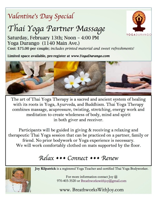2016 Thai Massage