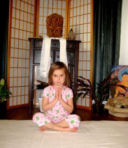 yoga; d